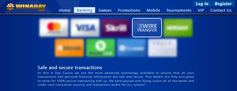 191+ Best Wire Transfer Online Casinos in 2021 🥇