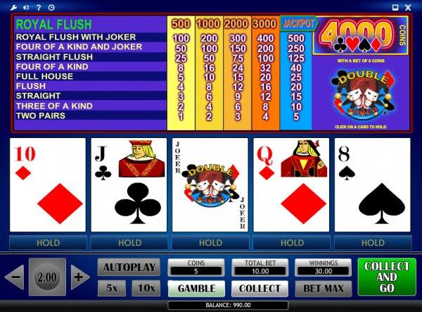 Joker Poker Video Poker - Spela Joker Poker online för fritt