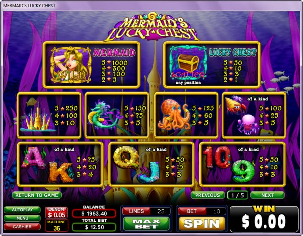 Spiele MermaidS Lucky Chest - Video Slots Online