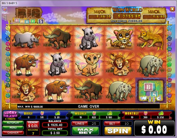 Dyretema slots - online slots med dyr