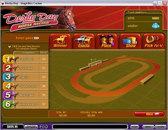 Play Derby Day Arcade Game Online at Casino.com NZ
