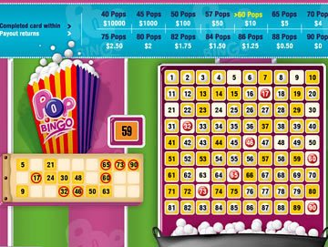 Play Pop Bingo Arcade Games Online at Casino.com Australia