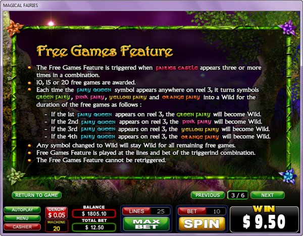 Spiele Magical Fairies - Video Slots Online