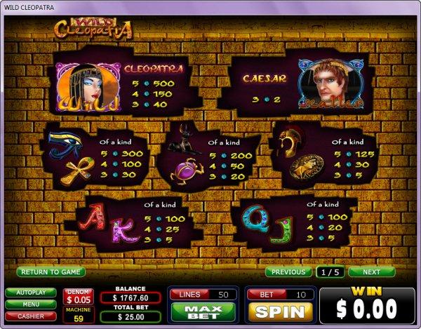 casino online cleopatra bilder