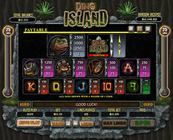 Dino World Slots - Play the Free Casino Game Online