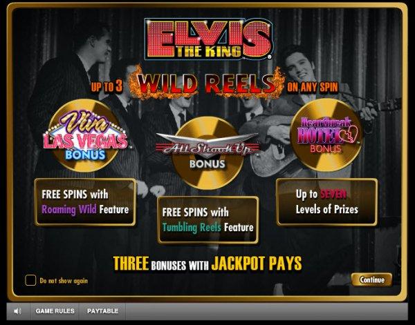 elvis slot machine