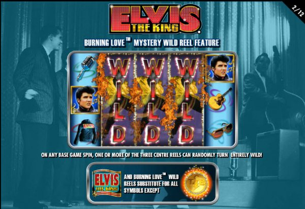 Elvis the King Burnin' Love Wilds