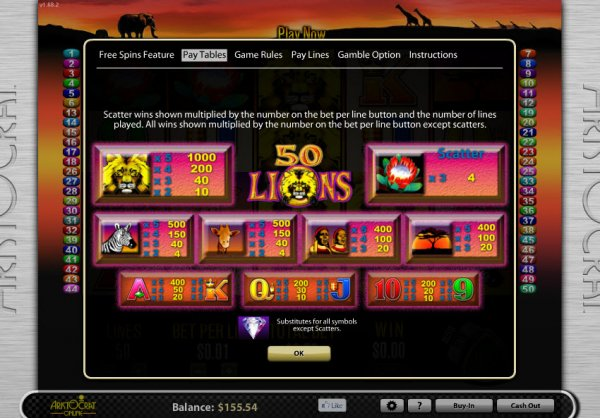 Real cash slot machines online
