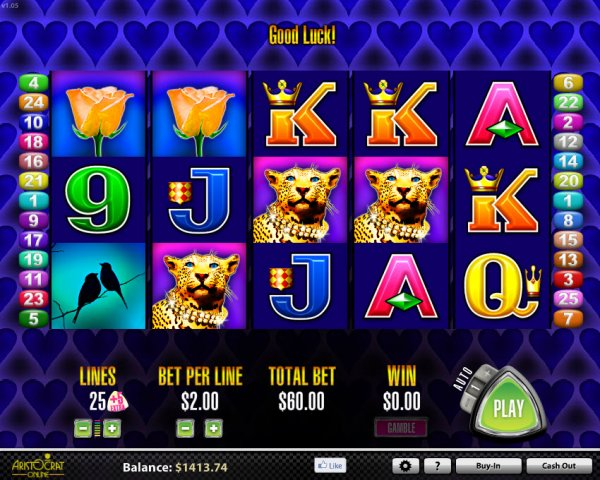 More Hearts Slots Game