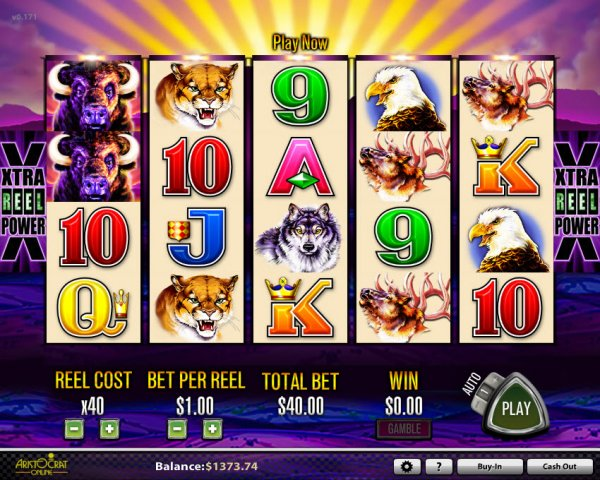 free buffalo casino slot games