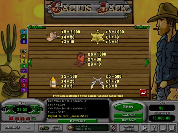 online slots casino crazy cactus