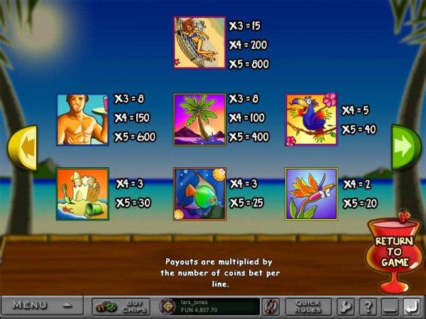 Island online virtual casino