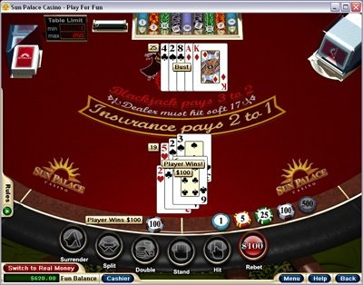 Sun palace online casino review
