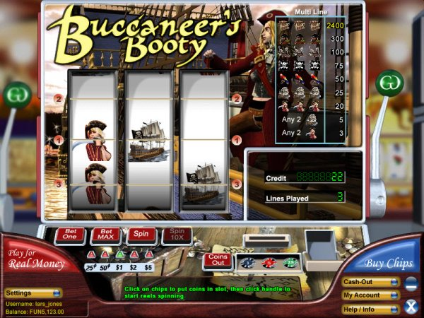 Buccaneer's Booty Slot - Play the Online Slot for Free