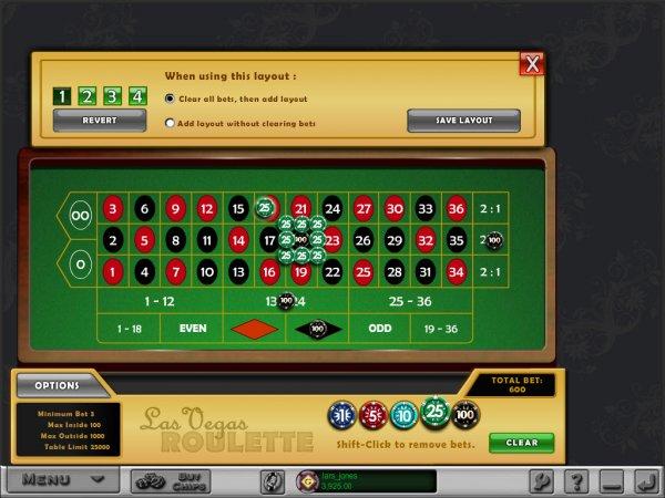 Kasino roulette rims