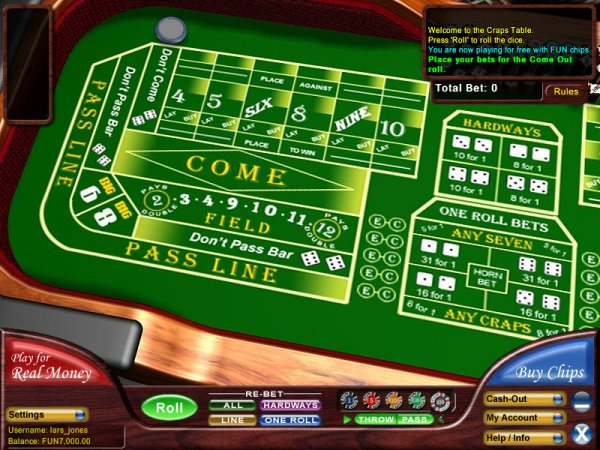 Free Online Craps Game - No Downloads or Registration Needed