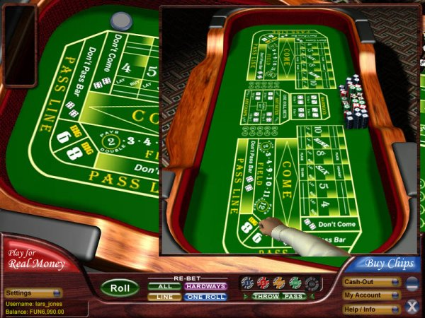 free casino online dice and roll