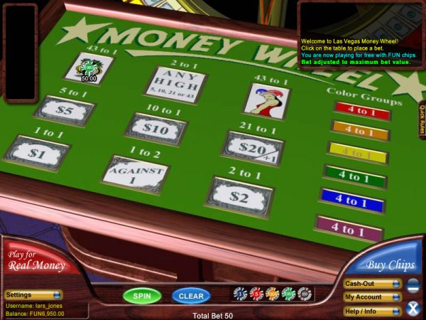 casino betting online wheel book