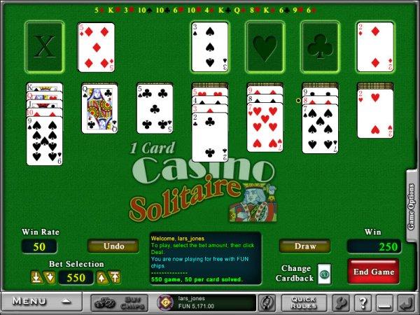 Casino card games online