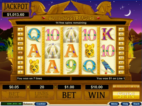 Boy King's Treasure™ Slot Machine Game to Play Free in Realtime Gamings Online Casinos