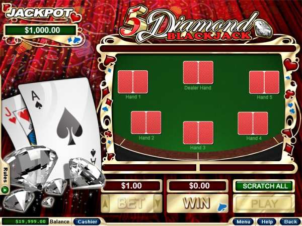 online casino dealer like a diamond