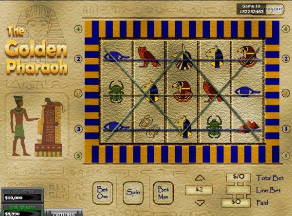 Golden pharaoh slots online