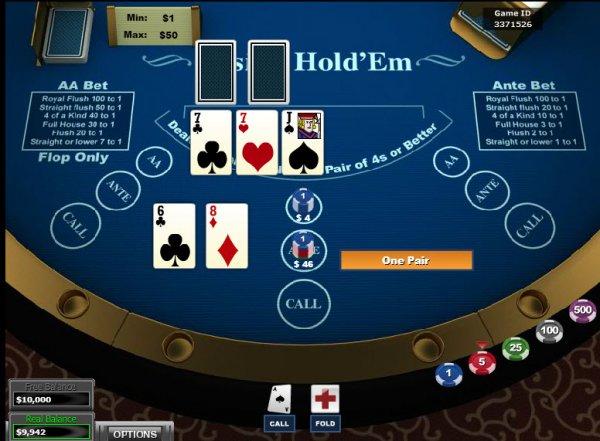 casino holdem poker online