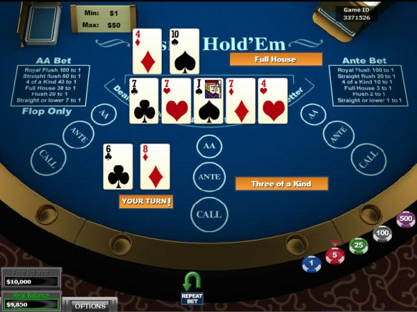 casino online poker river queen