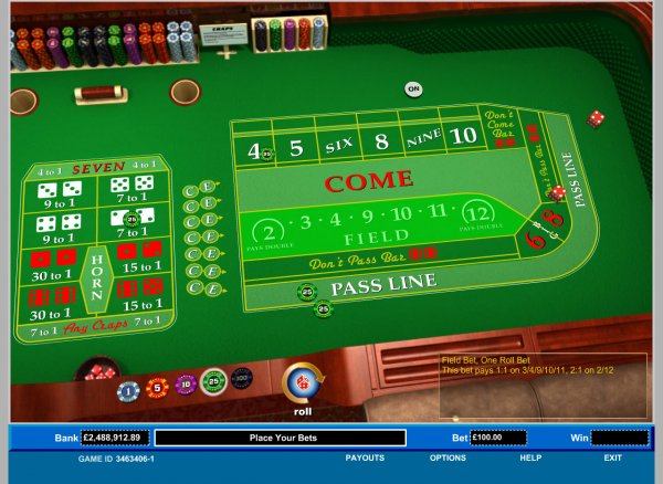 3 to 1 odds payout in craps what is snake gourd
