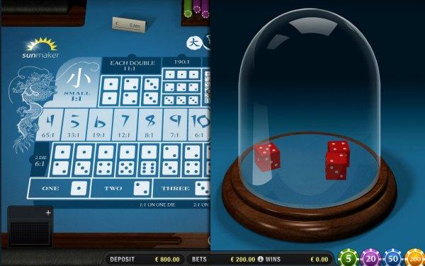 casino craps online sic bo