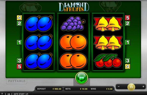 Diamond and fruits merkur casino slots yacht