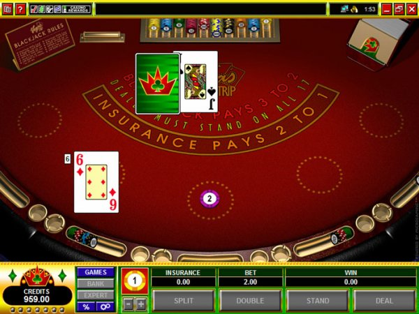 Strip casinos with $5 blackjack