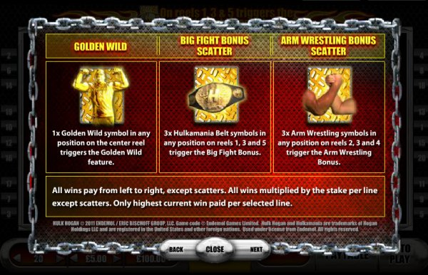 Ultimate Fighting Championship™ Slot Machine Game to Play Free in Endemol Gamess Online Casinos