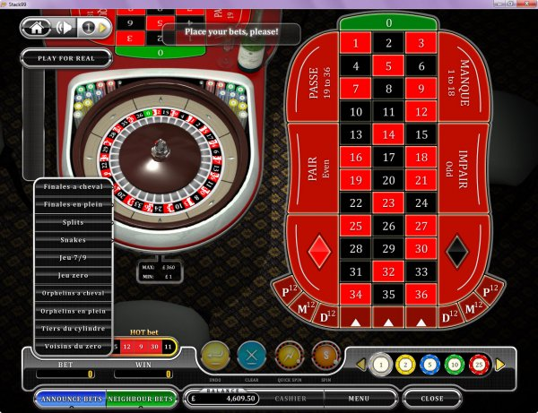 star casino french roulette trucco