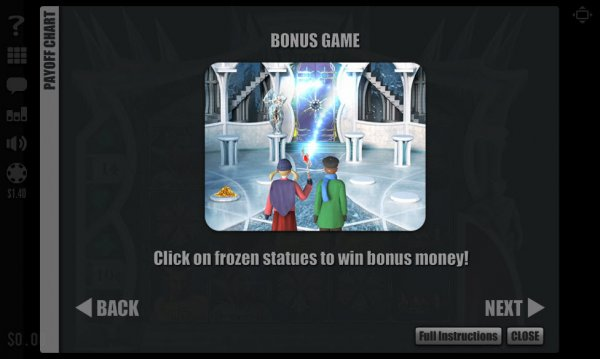 Ice Queen Slots Bonus Game