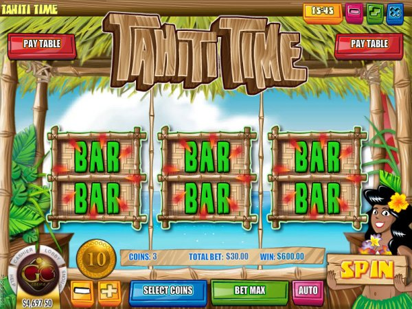 Tahiti Time™ Slot Machine Game to Play Free in Rivals Online Casinos