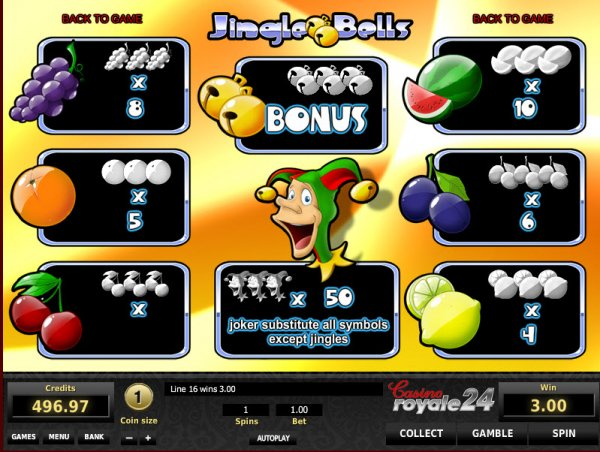Jingle Bells Slots - Play Free Tom Horn Gaming Games Online