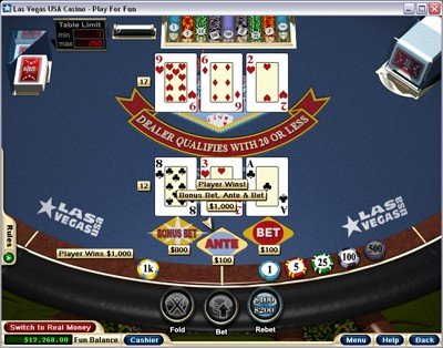 four card poker practice