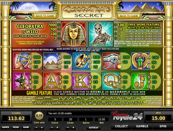 which online casino pays the best cleopatra bilder