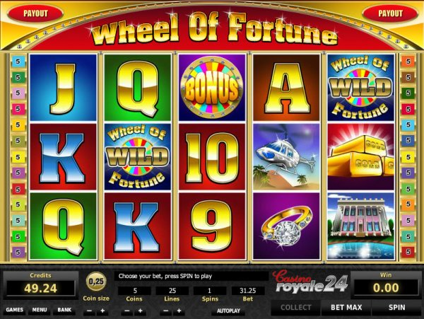 casino games slots free wheel of fortune