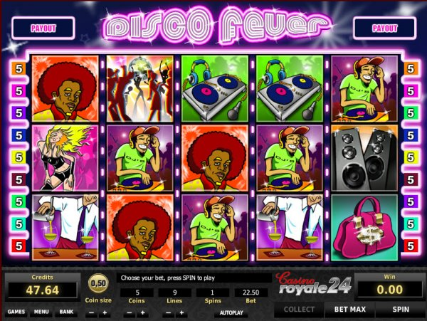 Disco Fever Slot - Play this Vista Gaming Casino Game Online