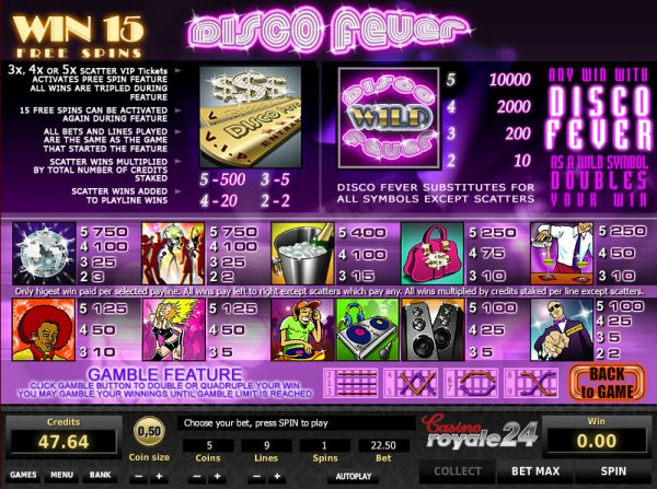 Disco Fever Slots - Play Free Zeus Play Games Online