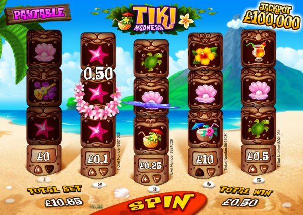 Tiki Land Slots - Play this Game by Multislot Online