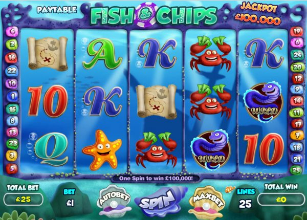 fish chips slot