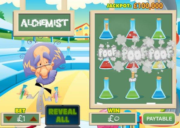 neues online casino alchemist spiel
