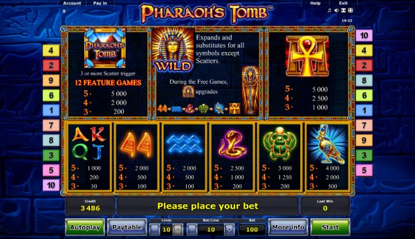 mansion online casino pharaoh s