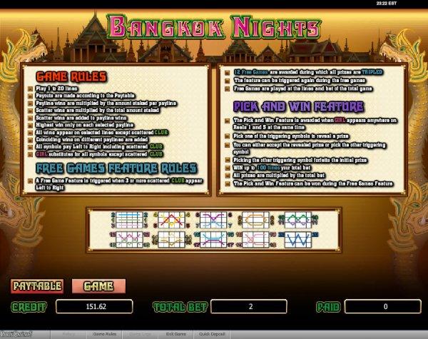 Bangkok Nights™ Slot Machine Game to Play Free in PartyGamings Online Casinos