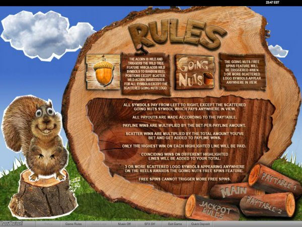 slots nuts
