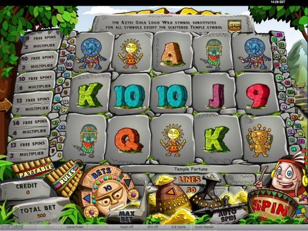 Aztec Treasure 5 Reel Slots Free Play & Real Money Casinos