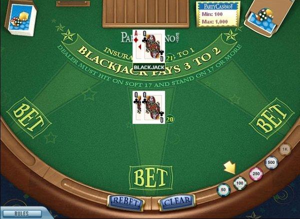 Blackjack high limit